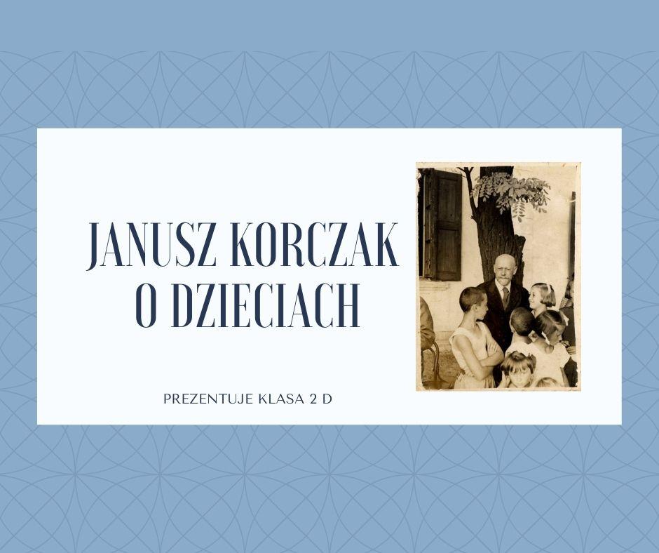 Janusz Korczak o dzieciach